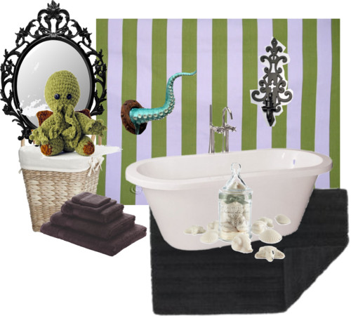 The Witch's Cottage: Goth Home Decoration -Cthulhu ...