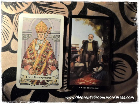 Robin Wood and SteamPunk Tarot