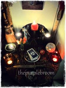 My Samhain altar